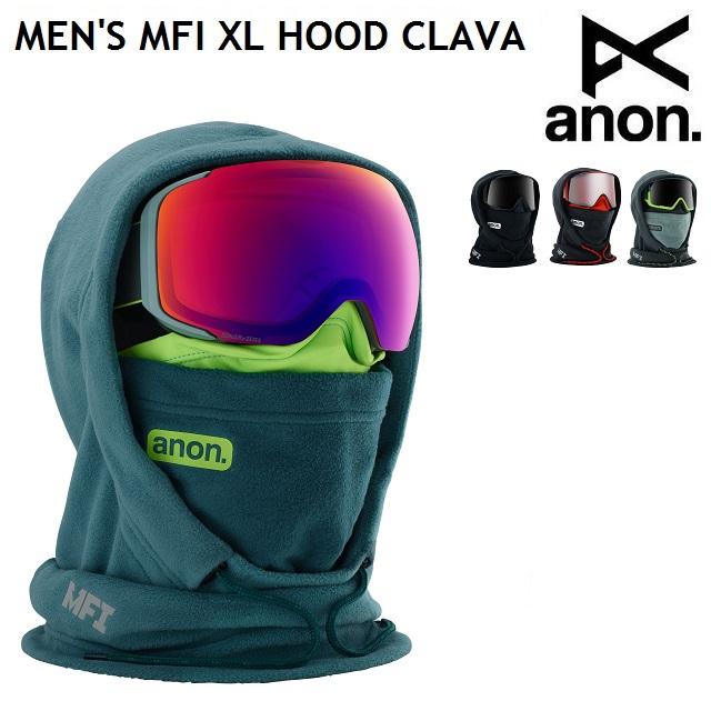 19-20 ANON MENS MFI XL HOOD CLAVA アノン メンズ エックスエル フードクラバ スノーボード 日本正規品