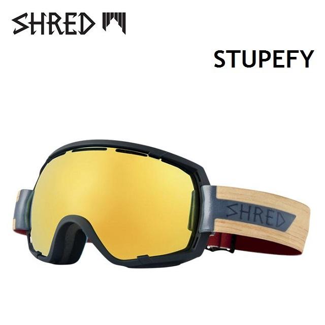 SHRED シュレッド ゴーグル STUPEFY ステューピファイ SHRASTAWOOD / AURA