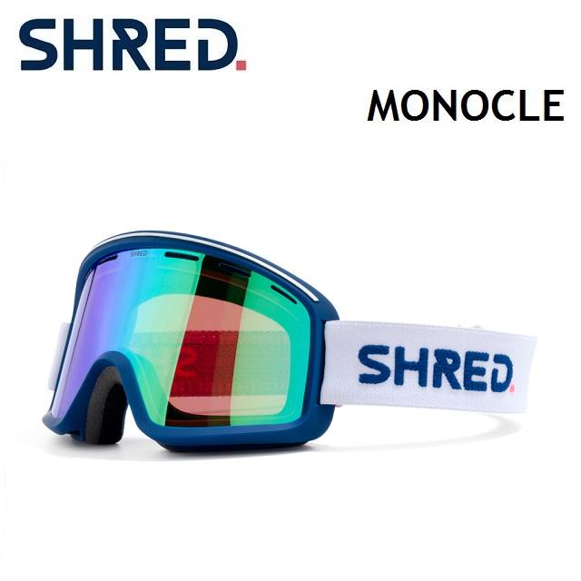 [最大3000円クーポン配布中] 19-20 SHRED シュレッド シュレッド ゴーグル SHRED MONOCLE モノクル CLOUDBREAK MIRROR/ CBL PLASMA MIRROR, 塩江町:8d8f22ff --- officewill.xsrv.jp