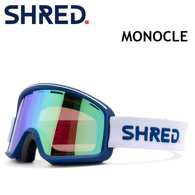 2020-2021 SHRED シュレッド 20-21 MONOCLE モノクル CLOUDBREAK MIRROR 1年保証 スノーボード ジャパンフィット 日本正規品 PLASMA CBL ゴーグル 当店限定販売