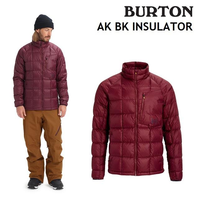 19-20 BURTON MENS AK BK INSULATOR バートン メンズ インナー PORT ROYAL スノーボード 日本正規品