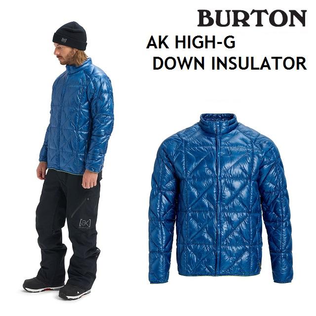 19-20 BURTON MENS AK HIGH-G DOWN INSULATOR バートン メンズ インナー CLASSIC BLUE スノーボード 日本正規品