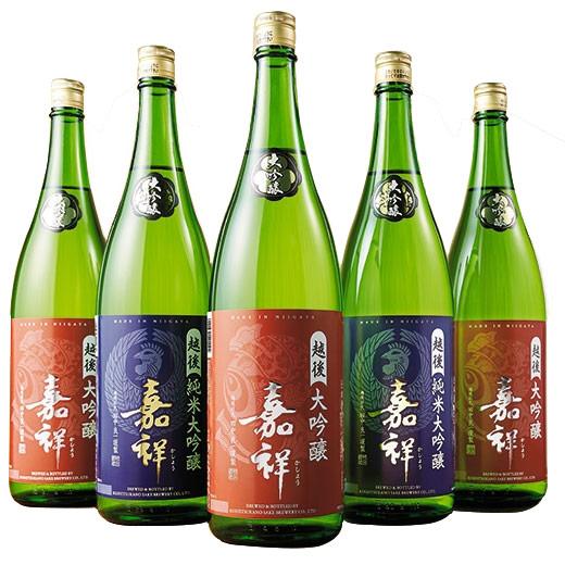 【54%OFF】《第2弾》地酒蔵の大吟醸飲みくらべ一升瓶5本組(越つかの酒造)日本酒飲みくらべセット 大吟醸 送料無料 お酒 日本酒 飲み比べ
