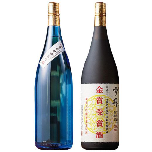 特別販売!雪椿酒造 珠玉の飲みくらべ一升瓶2本組【送料無料】【smtb-TD】【saitama】