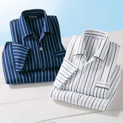 パジャマ S M LL L 3L【2着組】日本製冷感素材の涼やかパジャマ ベルーナ 40代 50代 60代 メンズ 男性 紳士 ファッション 夏服 パジャマ ルームウェア 小さいサイズ サマーセール 【在庫残りわずか】