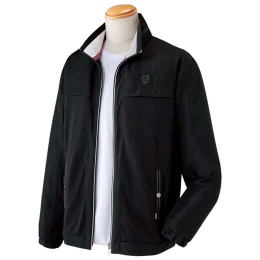 ブルゾン S M LL L 3L<ダンロップ・モータースポーツ>爽やかメッシュブルゾン ベルーナ 40代 50代 60代 メンズ 男性 紳士 ファッション 夏服 ブルゾン 小さいサイズ