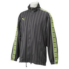 【プーマ】 トレーニングジャケット [カラー:ダークシャドウ×パロットグリーン] [サイズ:SS] #862216 【スポーツ・アウトドア:その他雑貨】【PUMA】