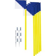 【モルテン】 コーナーフラッグDX(6本セット) #CFDXB 【スポーツ・アウトドア:サッカー・フットサル:コーナーフラッグ】【MOLTEN】