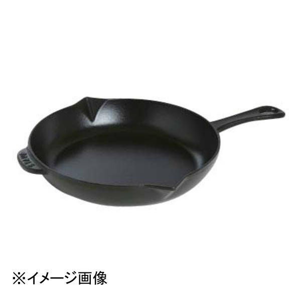 【ストウブ】 ストウブ ビュッフェスキレット 26cm ブラック 40510-617 【キッチン用品:調理用具・器具:フライパン:フライパン】【ストウブ ビュッフェスキレット 26cm】【STAUB】