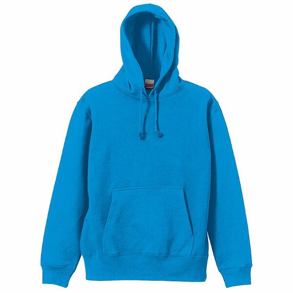 10.0オンス スウェットプルオーバーパーカ(パイル) [カラー:ターコイズブルー] [サイズ:L] #5214-01-538