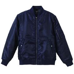 【ユナイテッドアスレ】 タイプ MA-1ジャケット(中綿入り) [カラー:ネイビー] [サイズ:S] #7480-01-86 【スポーツ・アウトドア:スポーツウェア・アクセサリー:ジャージ:メンズジャージ:アウター】【UNITED ATHLE】