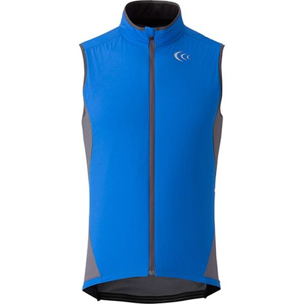 【シースリーフィット】 アルファドライインサレーテッドライドベスト(メンズ) [カラー:ブルー] [サイズ:XL] #3F35351-B 【スポーツ・アウトドア:スポーツ・アウトドア雑貨】【C3FIT】