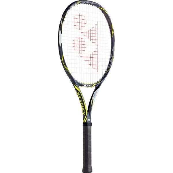 【ヨネックス】 テニスラケット(硬式用) Eゾーン ディーアール 100 [カラー:ダークガン×ライム] [サイズ:LG0] #EZD100-286 【スポーツ・アウトドア:テニス:ラケット】【YONEX】