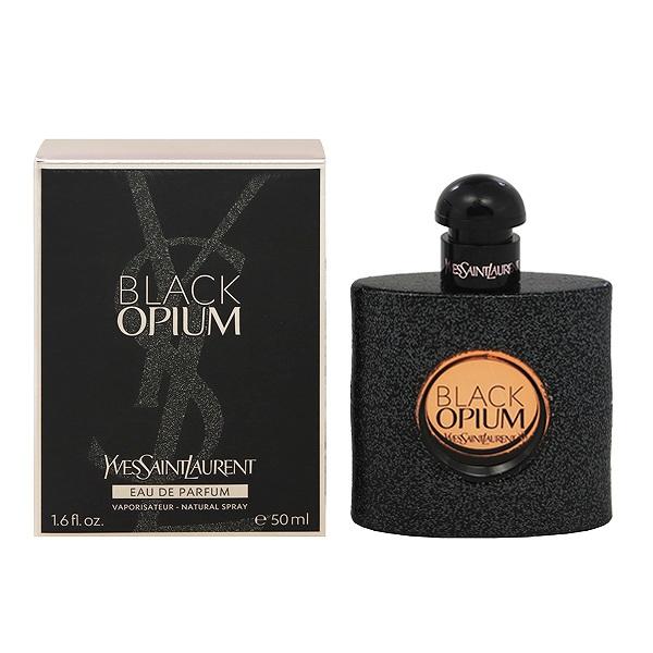 【イブサンローラン】 ブラック オピウム オーデパルファム・スプレータイプ 50ml 【香水・フレグランス:フルボトル:レディース・女性用】【オピウム】【YVES SAINT LAURENT BLACK OPIUM EAU DE PARFUM SPRAY】
