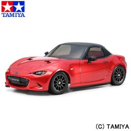 【5%offクーポン(要獲得) 12/11 9:59まで】 1/10 電動RCカー No.624 マツダ ロードスター (M-05シャーシ) 【タミヤ: 玩具 ラジコン オンロードカー】【TAMIYA 1/10 MAZDA MX-5 (M-05 CHASSIS)】