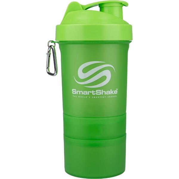 【スマートシェイク】 スマートシェイク プロテインシェイカーボトル(600ml) [カラー:ネオングリーン] #KSS0001 【スポーツ・アウトドア:その他雑貨】【SMARTSHAKE】