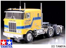 【タミヤ】 1/14 RCビッグトラックシリーズ No.04 グローブライナ― 【玩具:ラジコン:オンロードカー:組み立てキット】【1/14 RCビッグトラックシリーズ】【TAMIYA】