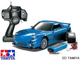 【タミヤ】 1/10 XB (エキスパート ビルト) No.63 XB マツダ RX-7 【玩具:ラジコン:オンロードカー:完成品】【1/10 XB (エキスパート ビルト)】【TAMIYA】