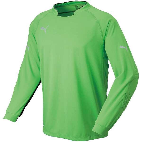 【5%offクーポン(要獲得) 12/26 9:59まで】 PW GKシャツ [カラー:フローグリーン] [サイズ:O] #903308-03 【プーマ: スポーツ・アウトドア サッカー・フットサル メンズウェア】【PUMA】
