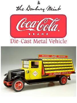 【ダンバリーミント】 1/24 ダイキャストカ― 1928年 コカ コーラ デリバリ― トラック 【玩具:模型:車】【1/24 ダイキャストカー】【DANBURY MINT】