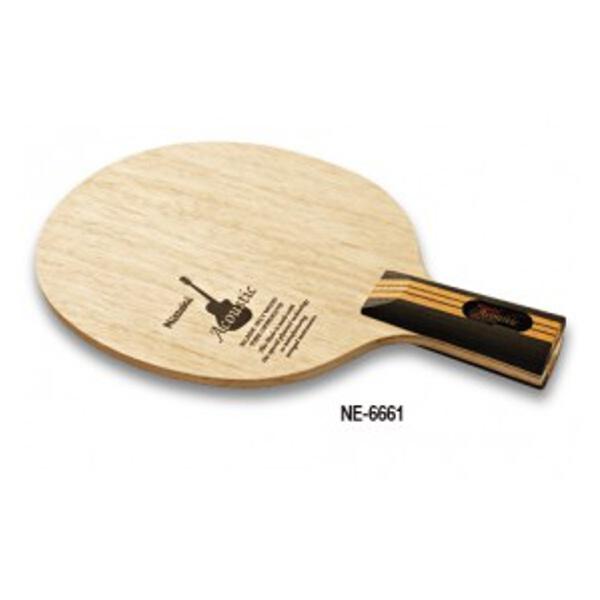 【ニッタク】 アコースティック C 卓球ラケット #NE-6661 【スポーツ・アウトドア:卓球:ラケット】【NITTAKU】