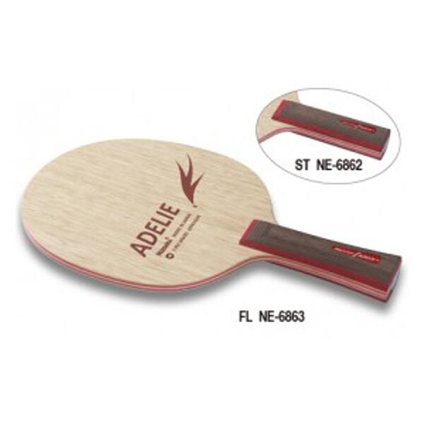 【ニッタク】 アデリ― FL 卓球ラケット #NE-6863 【スポーツ・アウトドア:卓球:ラケット】【NITTAKU】
