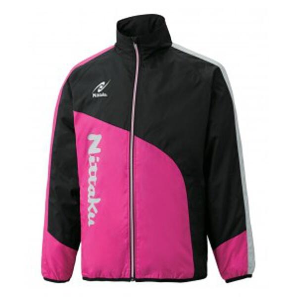 【ニッタク】 ライトウォーマーCUR シャツ 卓球ウェア [カラー:ピンク] [サイズ:XO] #NW-2840-21 【スポーツ・アウトドア:卓球:ウェア:メンズウェア:シャツ】【NITTAKU】
