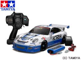 【タミヤ】 1/10 XB (エキスパート ビルト) No.84 ポルシェ911 GT3 カップカ― Team KTR (TT-01シャーシ TYPE-E) 【玩具:ラジコン:オンロードカー:完成品】【1/10 XB (エキスパート ビルト)】【TAMIYA XB PORSCHE 911 GT3 CUP Team KTR(TT-01 TYPE-E CHASSIS)】