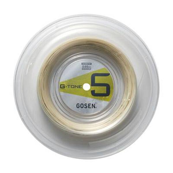 【ゴーセン】 G-TONE 5 ロール バドミントンガット [カラー:ナチュラル] [長さ:200m] #BS0652-NA 【スポーツ・アウトドア:スポーツ・アウトドア雑貨】【GOSEN】