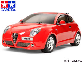 【1300円offクーポン(要獲得) 11/4 20:00~11/5 23:59 200名様】 【送料無料(沖縄・離島を除く)】 1/10RC フルセット アルファロメオ MiTo (M-05シャーシ) フルセット 【タミヤ: 玩具 ラジコン オンロードカー】【TAMIYA Alfa Romeo MiTo (M-05 CHASSIS) COMPLETE KIT】