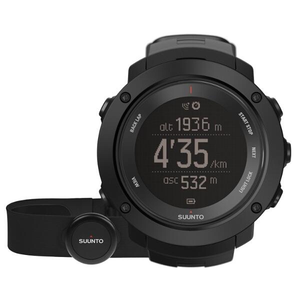 【スント】 AMBIT3 VERTICAL HR BLACK(アンビット3バーティカル HR ブラック) 日本正規品 GPSスポーツウォッチ #SS021964000 【スポーツ・アウトドア:アウトドア:精密機器類:ウォッチ】【SUUNTO】