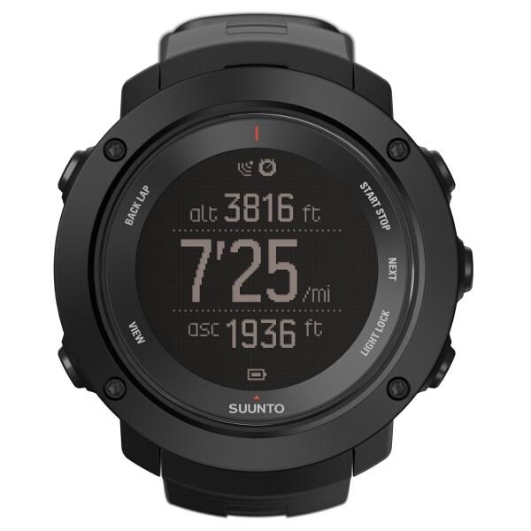 【スント】 AMBIT3 VERTICAL BLACK(アンビット3バーティカル ブラック) 日本正規品 GPSスポーツウォッチ #SS021965000 【スポーツ・アウトドア:アウトドア:精密機器類:ウォッチ】【SUUNTO】
