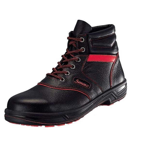 【シモン】 安全靴 シモンライト SL22-R 黒/赤 25.5cm 【日用品・生活雑貨:DIY:日曜大工・作業用品:作業用品:安全靴】【安全靴 シモンライト SL22-R 黒/赤】【SIMON】