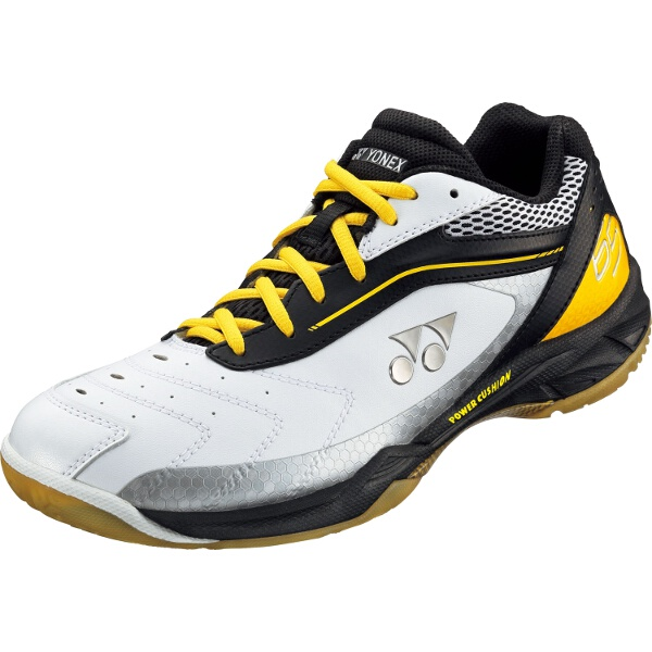 【ヨネックス】 バドミントンシューズ パワークッション65 [カラー:ブラック×イエロー] [サイズ:23.5cm] #SHB-65-400 【スポーツ・アウトドア:スポーツ・アウトドア雑貨】【YONEX】