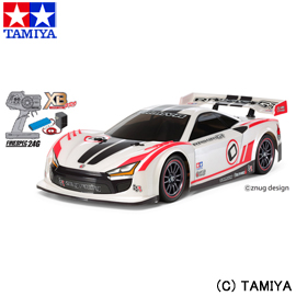 【タミヤ】 1/10 XB (エキスパート ビルト) No.193 ライキリGT (TT-02シャーシ) 【玩具:ラジコン:オンロードカー:完成品】【1/10 XB (エキスパート ビルト)】【TAMIYA 1/10RC XB RAIKIRI GT (TT-02 CHASSIS)】