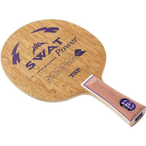 【ティーエスピ―】 スワット パワーFL 卓球ラケット #026684 卓球ラケット【スポーツ スワット・アウトドア:卓球:ラケット パワーFL】【TSP】, 新作:2a29c358 --- officewill.xsrv.jp