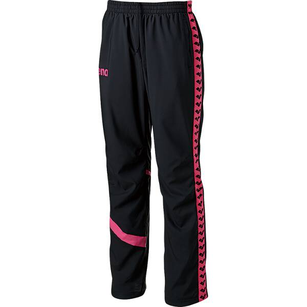 【アリーナ】 ウィンドロングパンツ [サイズ:SS] [カラー:ブラック×ピンク] #ARN-6301P-BKPK 【スポーツ・アウトドア:スポーツ・アウトドア雑貨】【ARENA】