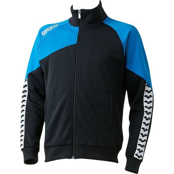 【アリーナ】 ジャージジャケット [サイズ:SS] [カラー:ブラック×ブルー] #ARN-6320-BKBU 【スポーツ・アウトドア:スポーツ・アウトドア雑貨】【ARENA】