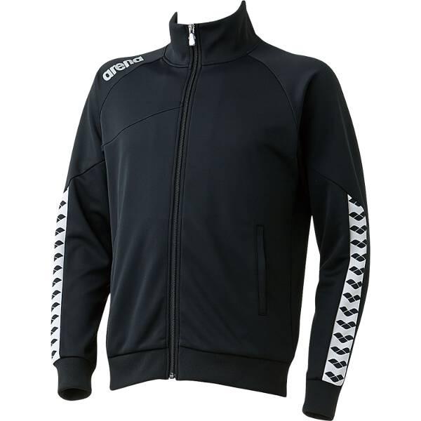 【アリーナ】 ジャージジャケット [サイズ:SS] [カラー:ブラック] #ARN-6320-BLK 【スポーツ・アウトドア:その他雑貨】【ARENA】