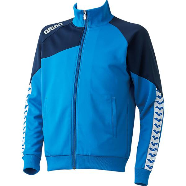 【アリーナ】 ジャージジャケット [サイズ:O] [カラー:ブルー] #ARN-6320-BLU 【スポーツ・アウトドア:スポーツ・アウトドア雑貨】【ARENA】