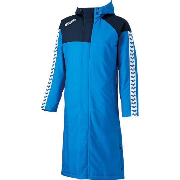 【アリーナ】 ロングコート [サイズ:SS] [カラー:ブルー] #ARN-6330-BLU 【スポーツ・アウトドア:スポーツ・アウトドア雑貨】【ARENA】