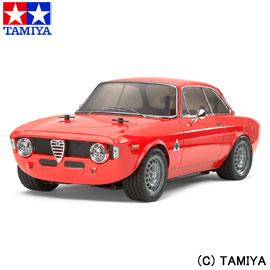 【5%offクーポン(要獲得) 12/11 9:59まで】 【送料無料(沖縄・離島を除く)】 1/10 電動RCカー No.486 アルファロメオ ジュリア スプリント GTA (M-06シャーシ) 【タミヤ: 玩具 ラジコン オンロードカー】【TAMIYA Alfa Romeo Giulia Sprint GTA (M-06 CHASSIS)】