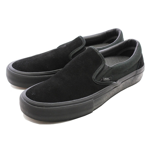 【バンズ】 バンズ スリッポン プロ [サイズ:27cm(US9)] [カラー:ブラックアウト] #VN00097M1OJ 【靴:メンズ靴:スニーカー】【VN00097M1OJ】