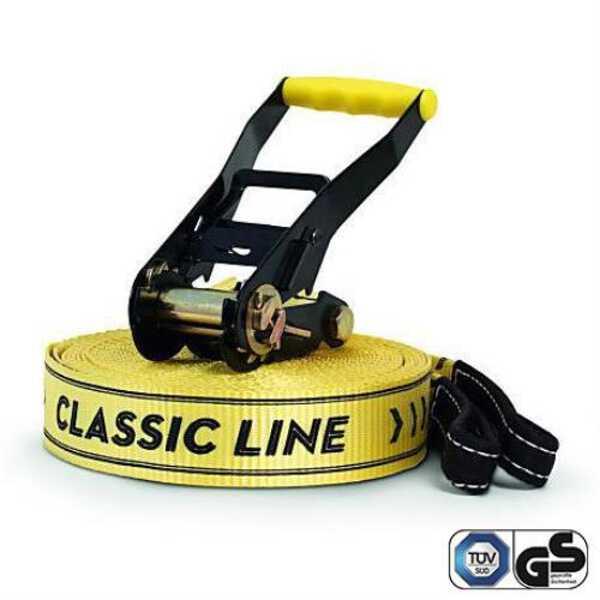 【ギボン】 CLASSIC LINE X13(クラシックラインX13) 15mライン 日本正規品 [カラー:イエロー] #130001 【スポーツ・アウトドア:その他雑貨】【GIBBON】