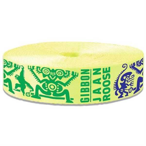 【ギボン】 THE SLAMINA(ザ・スラミナ) 25mライン単体 日本正規品 [カラー:イエロー] #140002 【スポーツ・アウトドア:スポーツ・アウトドア雑貨】【GIBBON】