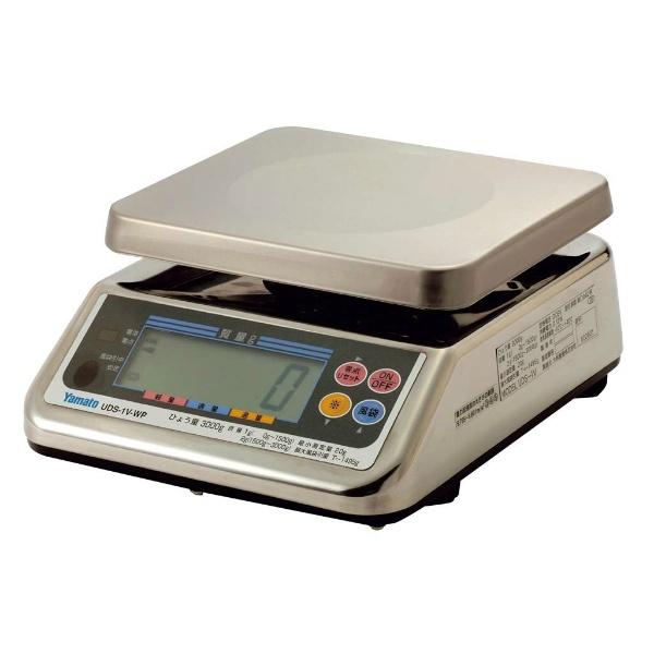 【大和製衡】 ヤマト デジタル上皿はかり UDS-1VN-WP-3 3kg 【キッチン用品:調理用具・器具:計量器】【YAMATO SCALE】