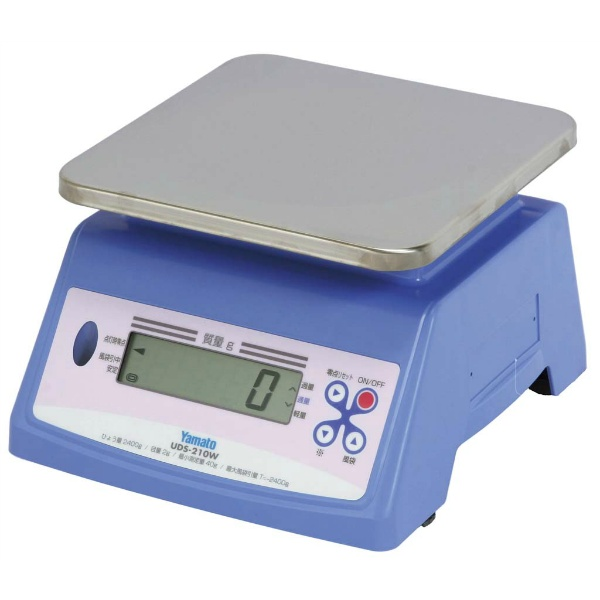【大和製衡】 ヤマト デジタル 防水型 上皿自動秤 UDS-210W 20kg 【キッチン用品:調理用具・器具:計量器】【YAMATO SCALE】