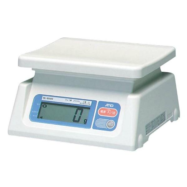 【エー・アンド・デイ】 A&D デジタル ハカリ SL20KJA 20kg 【キッチン用品:調理用具・器具:計量器:キッチンスケール】【A&D】