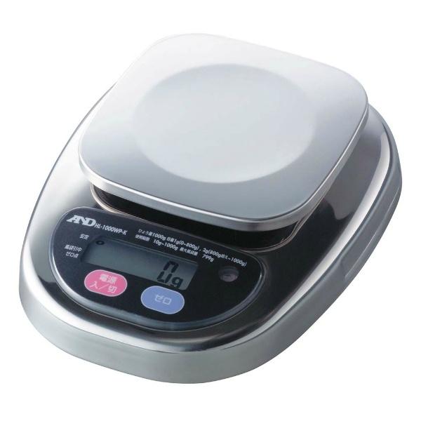 【エー・アンド・デイ】 A&D 防水・防塵デジタルはかり HL1000iWP-K-A3 検定済品 【キッチン用品:調理用具・器具:計量器:キッチンスケール】【A&D】
