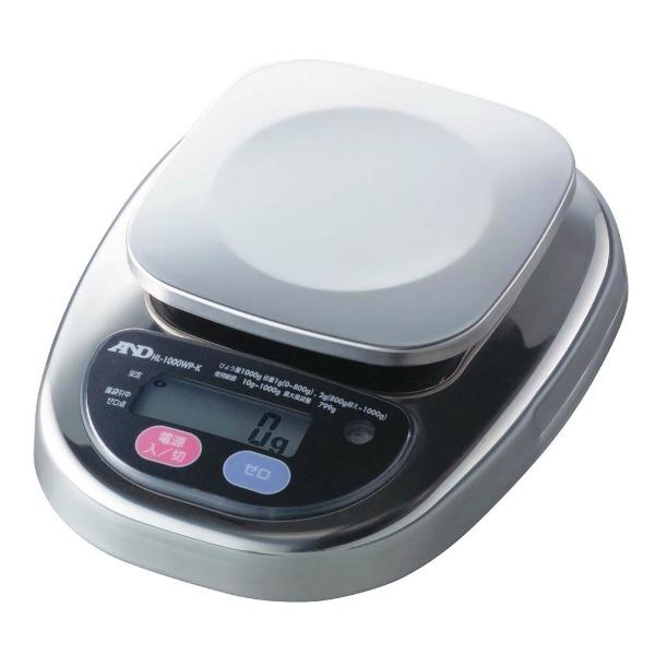 【エー・アンド・デイ】 A&D 防水・防塵デジタルはかり HL2000iWP-K-A3 検定済品 【キッチン用品:調理用具・器具:計量器:キッチンスケール】【A&D】